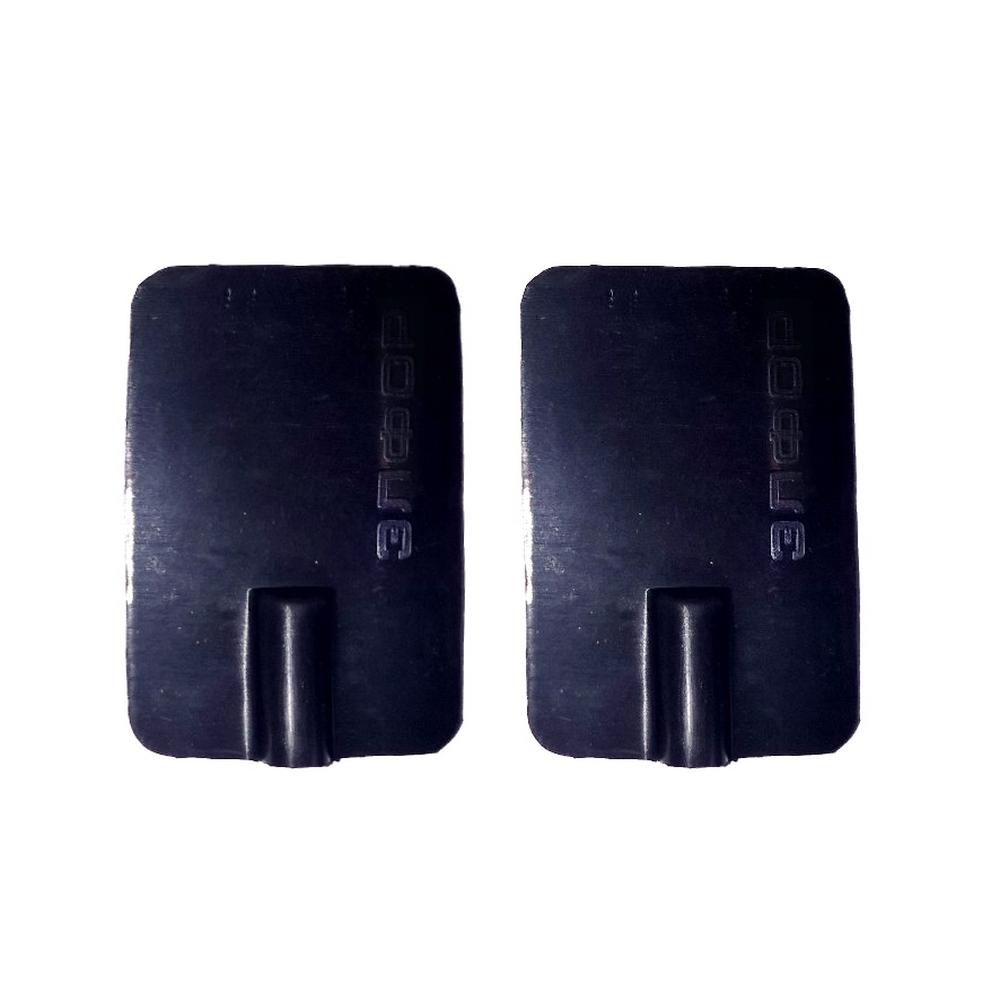 Электрод резиновый многоразовый токопроводящий для Элфор. 40x60 мм. Под штекер 2 мм. Пара.Провода и токоподводы<br>Электрод резиновый многоразовый токопроводящий для Элфор. Под штекер 2 мм.<br>