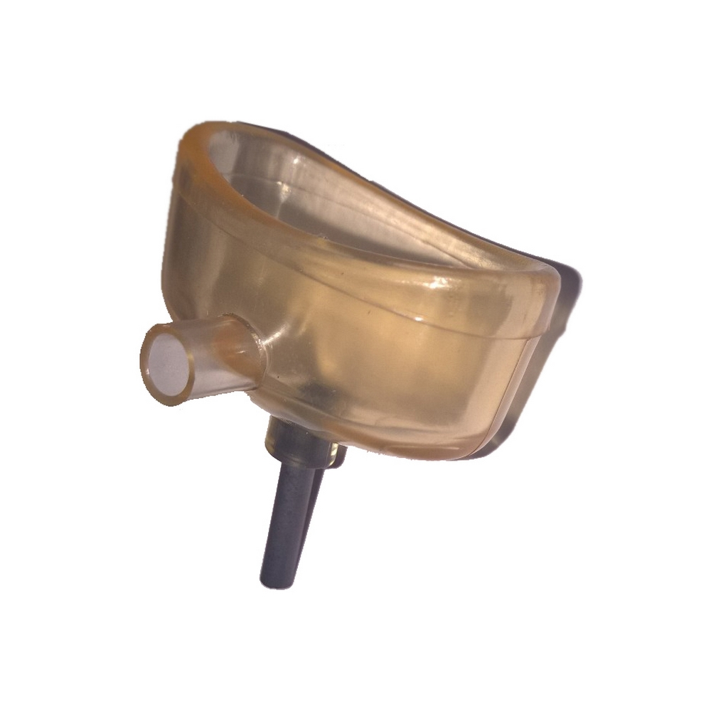 Ванночка глазнаяПровода и токоподводы<br>Глазная ванночка представляет собой удобное приспособление для проведения процедур электрофореза, назначенных при различных заболеваниях глаз. Для ее изготовления используют медицинский пластикат, который является химически инертным и абсолютно нетоксичным материалом. Ванночка оснащена интегрированным в нее электродом из графита, с помощью которого ее подключают к аппаратам для электрофореза (например, Элфор-Проф, ПоТок, АГН и т.д.).<br>