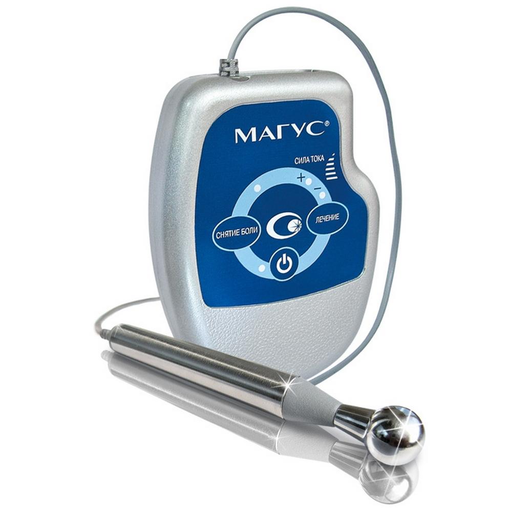 Электромиостимулятор низкочастотной импульсной терапии, гальванизации и электрофореза «НЕВОТОН»Аппараты для Электрофореза и Гальванизациии<br>Электромиостимулятор «МАГУС» – это эффективный аппарат, предназначенный для лечения и профилактики заболеваний опорно-двигательного аппарата. В его конструкции сочетаются мощное физиотерапевтическое воздействие и уникальное техническое решение, позволяющее использовать «МАГУС» в домашних условиях.<br>