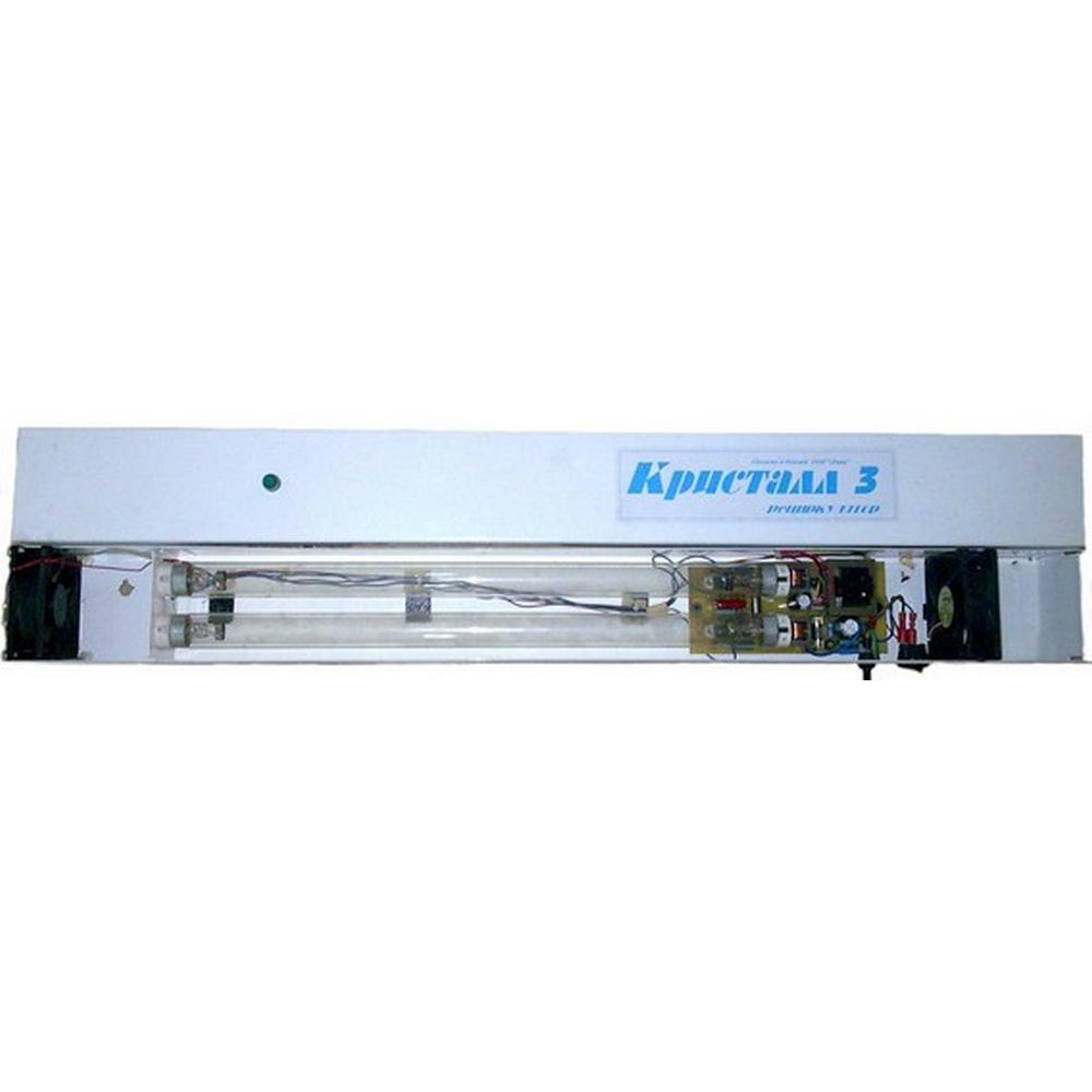 Облучатель рециркуляторный «ДИАК»Кварцевая лампа Кристалл<br>Облучатель рециркуляторный «Кристалл 3» - это современное компактное решение для эффективного обеззараживания воздуха в помещении. Настенная модель удобна в эксплуатации, а закрытый тип прибора предотвращает воздействие ультрафиолетовых лучей на организм человека.<br>