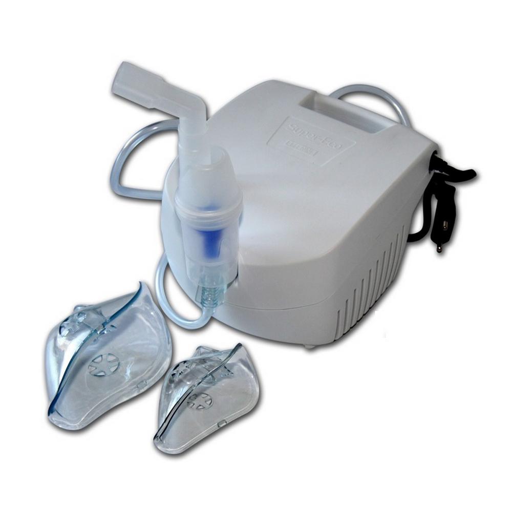 Ингалятор компрессорный «FLAEM NUOVA»Ингаляторы<br>Компактный однорежимный небулайзер Super-Eco поможет облегчить состояние пациента при респираторном заболевании, активизировать процесс откашливания и устранить насморк. Аэрозольная терапия также уничтожит вирусные микроорганизмы на слизистых, уменьшит проявления ларингита, трахеита и других заболеваний органов дыхания.<br>