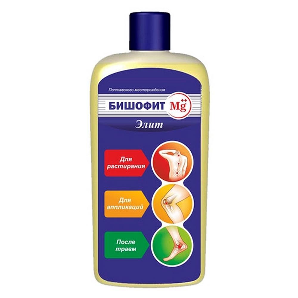 Бишофит MG ++ «ЭЛИТ» 250 мл.Бишофит<br>Бишофит MG ++ «ЭЛИТ» является природным минеральным средством, содержащим в своем составе ультрачистый магний. Оно обладает мощным профилактическим, лечебным и косметическим воздействием, а также стимулирует тонус и жизнедеятельность мышечной, костной и соединительной тканей.<br>