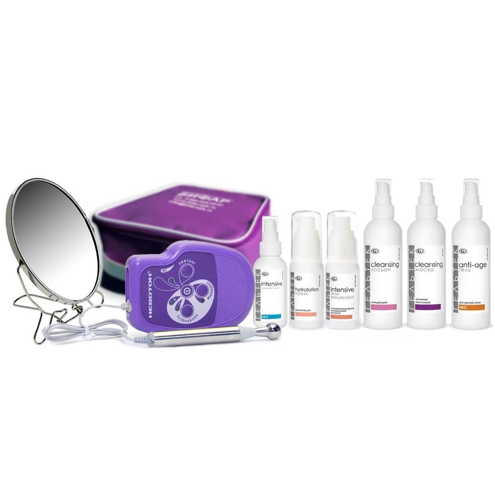 Гельтек-Медика Готовый набор Anti-age с ионофорезом лифтинг-программа микротоковой терапии для кожи с возрастными изменениями
