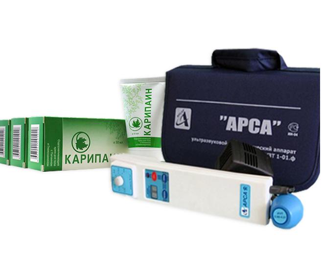 Готовый набор «АрсаФон» для лечения грыжи «АРСАР»