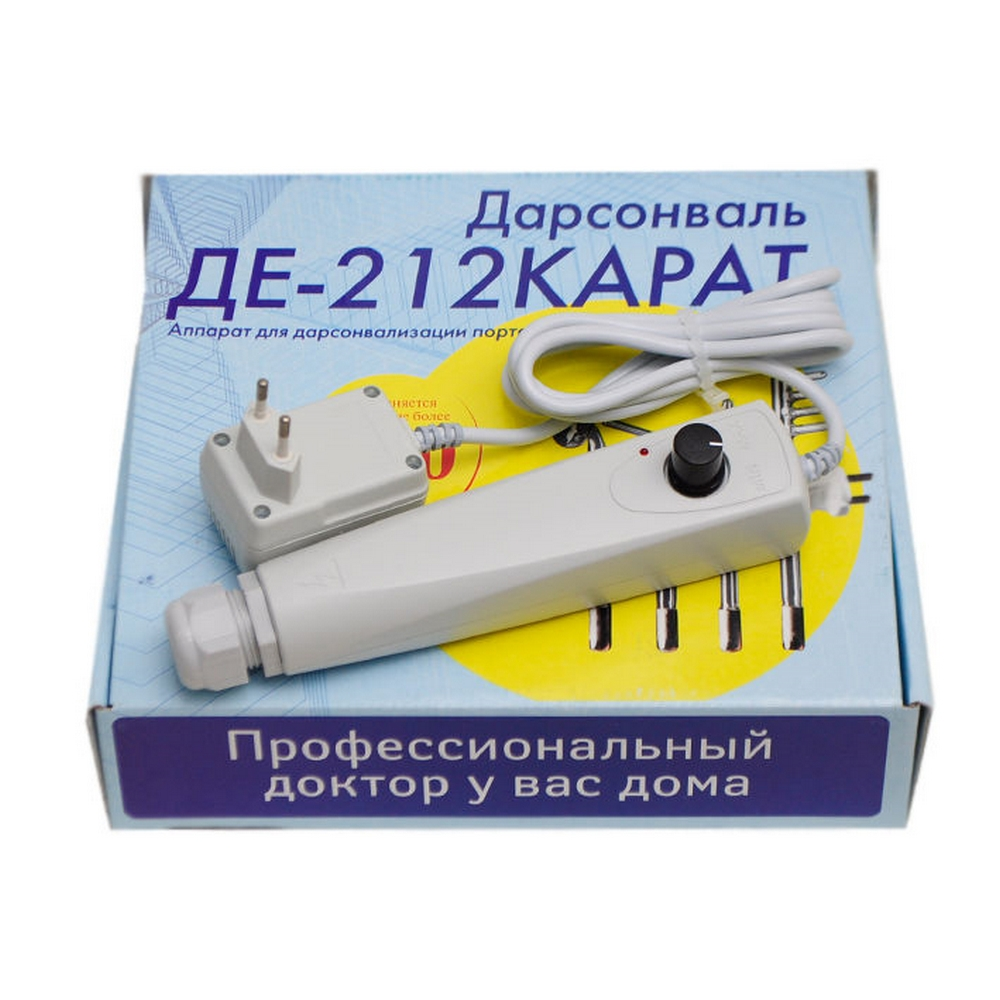 Аппарат для Дарсонвализации КАСКАД-ФТО Карат