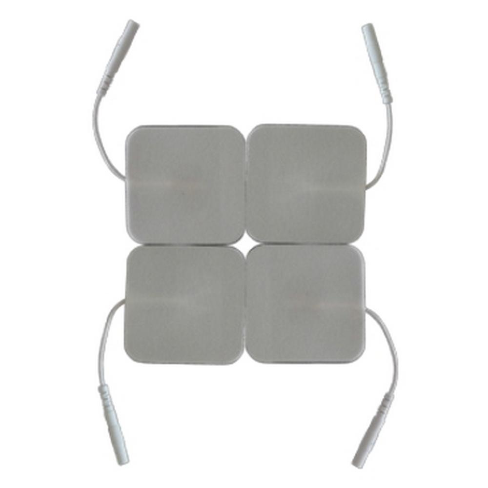 Современные Технологические Линии Электроды квадратные самоклеющиеся 50x50 мм. для ЭМС и ЧЭНС. Комплект 4 шт.