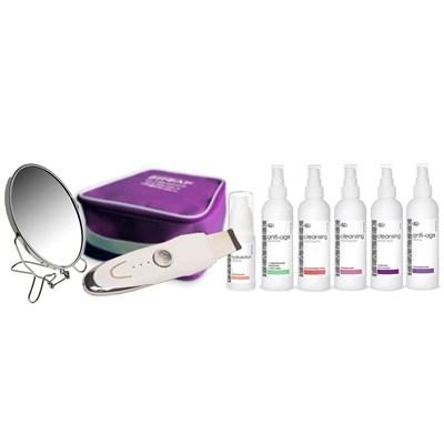 Готовый набор «Anti-acne с ультразвуковым пилингом» программа комплексной ультразвуковой очистки лица для нормальной кожи - фото 10394