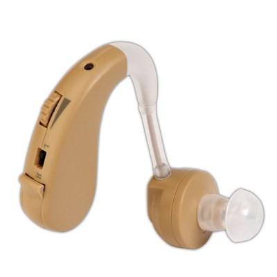 Слуховой аппарат цифровой усилитель звука Zinbest HAP-20, заушный, батарейка - фото 11589