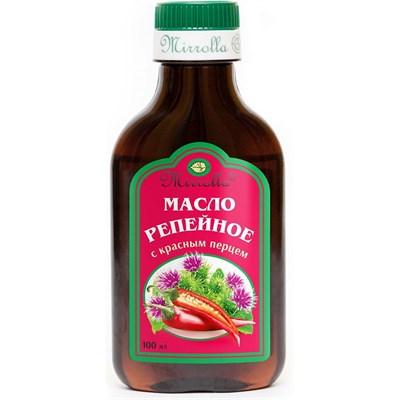 Репейное масло с красным перцем 100 мл.