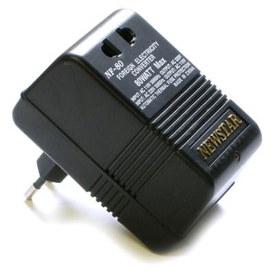 Конвертер NewStar NF-80 (адаптер напряжения 110в - 220в)