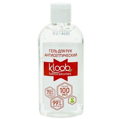 Гель для рук санитайзер антисептический Kloob Laboratories с антибактериальным эффектом 100 мл.