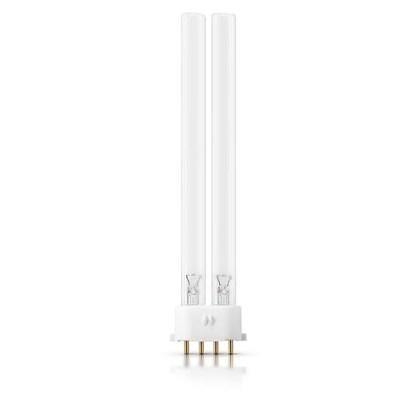 Лампа ДКБУ-9 ультрафиолетовая люминесцентная бактерицидная 4 штырька, цоколь 2G7 - фото 14027