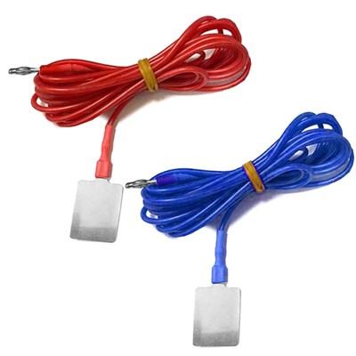 Комплект силиконовых кабелей с токоподводом из нержавеющей стали марки AISI 304 одинарный под ПоТок - фото 15155
