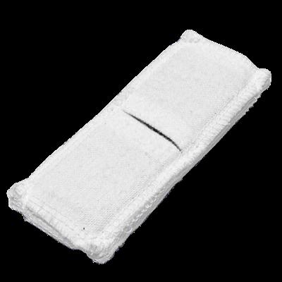 Электрод токопроводящий терапевтический с токораспределительным элементом из углеродной ткани многоразовый фланелевый 40x110 мм. (44 кв. см) Цена за 1 шт. - фото 15200