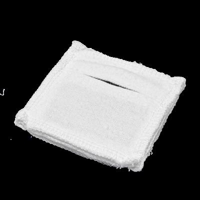 Электрод токопроводящий терапевтический с токораспределительным элементом из углеродной ткани многоразовый фланелевый 50x50 мм. (25 кв. см) Цена за 1 шт. - фото 15203