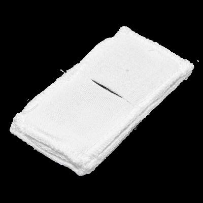 Электрод токопроводящий терапевтический с токораспределительным элементом из углеродной ткани многоразовый фланелевый 50x100 мм. (50 кв. см) Цена за 1 шт. - фото 15204