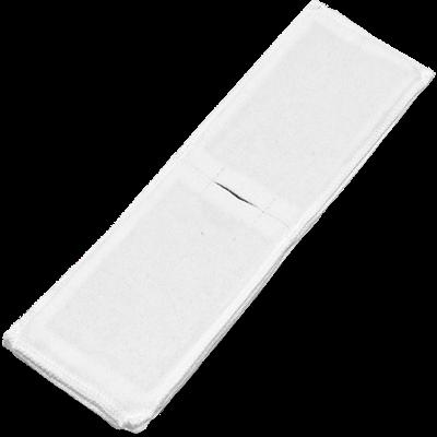 Электрод токопроводящий терапевтический с токораспределительным элементом из углеродной ткани многоразовый фланелевый 100x350 мм. (350 кв. см) Цена за 1 шт. - фото 15209