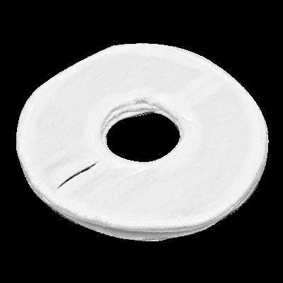 Электрод токопроводящий терапевтический с токораспределительным элементом из углеродной ткани многоразовый фланелевый «Грудной» для молочных желез. Диаметр 16/5 см. (180 кв. см.) Цена за 1 шт. - фото 15217