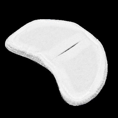 Электрод токопроводящий терапевтический с токораспределительным элементом из углеродной ткани многоразовый фланелевый «Горловой» 70x110 мм. (50 кв. см.) Цена за 1 шт. - фото 15221