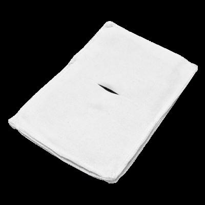Электрод токопроводящий терапевтический с токораспределительным элементом из углеродной ткани многоразовый фланелевый 130x190 мм. (247 кв. см) Цена за 1 шт. - фото 15227