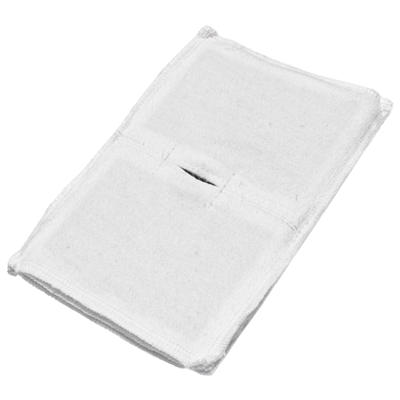 Электрод токопроводящий терапевтический с токораспределительным элементом из углеродной ткани многоразовый фланелевый 120x170 мм. (204 кв. см) Цена за 1 шт. - фото 15229
