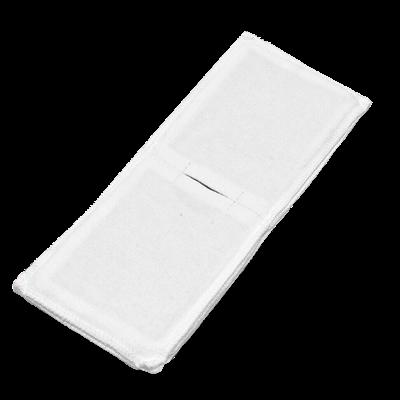 Электрод токопроводящий терапевтический с токораспределительным элементом из углеродной ткани многоразовый фланелевый 100x250 мм. (250 кв. см) Цена за 1 шт. - фото 15230