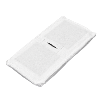 Электрод токопроводящий терапевтический с токораспределительным элементом из углеродной ткани многоразовый фланелевый 80x160 мм. (128 кв. см) Цена за 1 шт. - фото 15235
