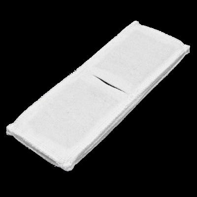 Электрод токопроводящий терапевтический с токораспределительным элементом из углеродной ткани многоразовый фланелевый 60x170 мм. (102 кв. см) Цена за 1 шт. - фото 15242
