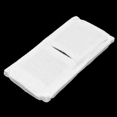 Электрод токопроводящий терапевтический с токораспределительным элементом из углеродной ткани многоразовый фланелевый 60x120 мм. (72 кв. см) Цена за 1 шт. - фото 15243