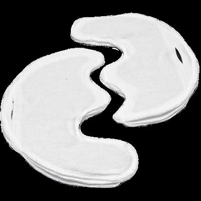 Электрод токопроводящий терапевтический с токораспределительным элементом из углеродной ткани многоразовый фланелевый «Полумаска Бергонье» трехлопастной 160x190 мм. (304 кв. см.) Цена за пару. - фото 15251