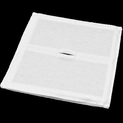 Электрод токопроводящий терапевтический с токораспределительным элементом из углеродной ткани многоразовый фланелевый 300x300 мм. (900 кв. см) Цена за 1 шт. - фото 15253