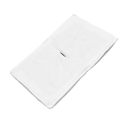 Электрод токопроводящий терапевтический с токораспределительным элементом из углеродной ткани многоразовый фланелевый 160x250 мм. (400 кв. см) Цена за 1 шт. - фото 15254