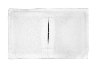 Электрод токопроводящий терапевтический с токораспределительным элементом из углеродной ткани многоразовый фланелевый 80x160 мм. (128 кв. см) Цена за 1 шт. - фото 4232