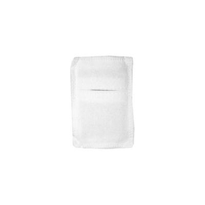 Электрод токопроводящий терапевтический с токораспределительным элементом из углеродной ткани многоразовый фланелевый 40x110 мм. (44 кв. см) Цена за 1 шт. - фото 4253