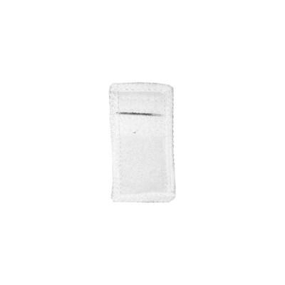 Электрод токопроводящий терапевтический с токораспределительным элементом из углеродной ткани многоразовый фланелевый 30x60 мм. (18 кв. см) Цена за 1 шт. - фото 4254