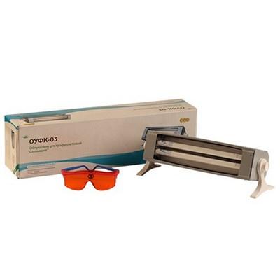ОУФк-03 «Солнышко» облучатель ультрафиолетовый для облучения кожных покровов - фото 9121