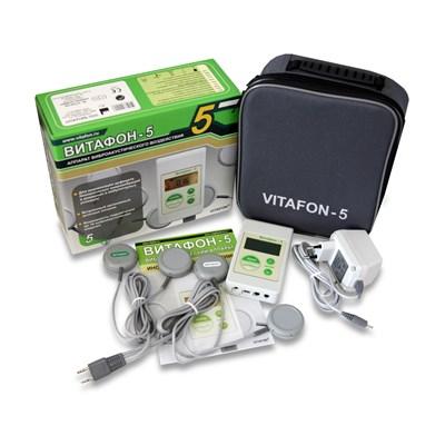 ВИТАФОН-5 аппарат виброакустический улучшенная модель с 8 виброфонами - фото 9475