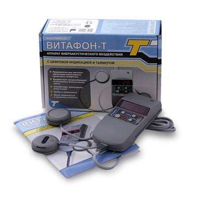 ВИТАФОН-Т аппарат виброакустический с двумя виброфонами и таймером - фото 9483