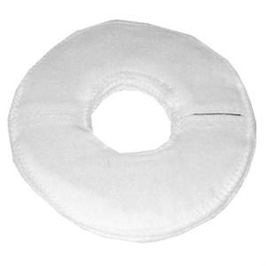 Электрод токопроводящий терапевтический с токораспределительным элементом из углеродной ткани многоразовый фланелевый «Грудной» для молочных желез. Диаметр 16/5 см. (180 кв. см.) Цена за 1 шт.
