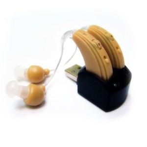 Слуховой аппарат цифровой усилитель звука Острослух 100MB заушный, аккумулятор