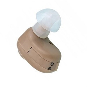Слуховой аппарат цифровой усилитель звука Jinghao JH-906, внутриушной, батарейка
