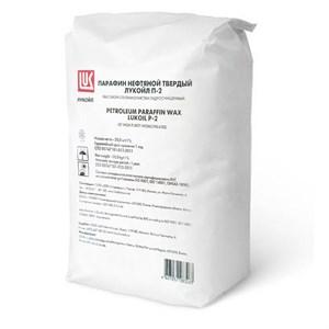 Лукойл П2 пищевой парафин мешок 20 килограмм