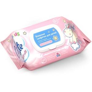 Влажные салфетки Cotte для детей с витаминами и бисабололом, упаковка 130 шт.