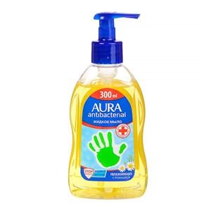 Aura жидкое мыло антибактериальное с ромашкой 300 мл.