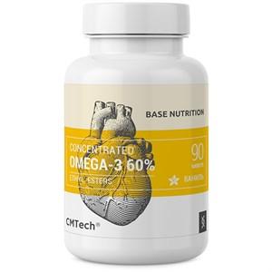 Omega-3 60% Концентрат 90 капсул (30 порций Омега-3:1800 мг. ЭПК 990 мг. ДГК 660 мг.)