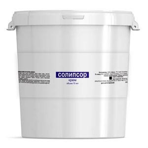 Солипсор крем 1000 мл. от псориаза антисептический, кератолитический, отшелушивающий