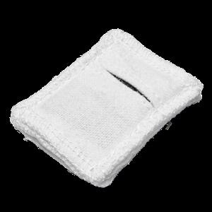 Электрод токопроводящий терапевтический с токораспределительным элементом из углеродной ткани многоразовый фланелевый 40x50 мм. (20 кв. см) Цена за 1 шт.