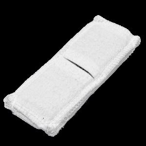 Электрод токопроводящий терапевтический с токораспределительным элементом из углеродной ткани многоразовый фланелевый 40x110 мм. (44 кв. см) Цена за 1 шт.