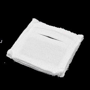 Электрод токопроводящий терапевтический с токораспределительным элементом из углеродной ткани многоразовый фланелевый 50x50 мм. (25 кв. см) Цена за 1 шт.
