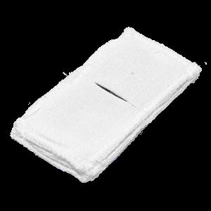 Электрод токопроводящий терапевтический с токораспределительным элементом из углеродной ткани многоразовый фланелевый 50x100 мм. (50 кв. см) Цена за 1 шт.